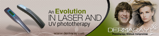 Dermaray | Dermaray UV ultra violet lamp | Dermaray Laser hair loss laser system.